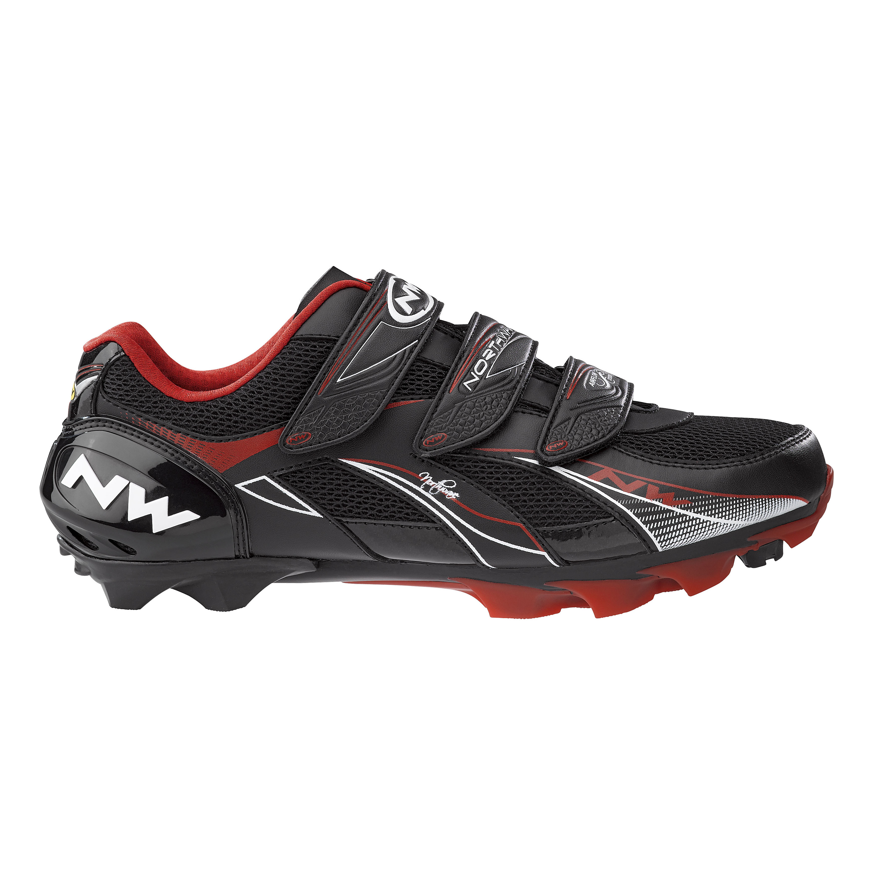 northwave womens mountain cycling shoe black size